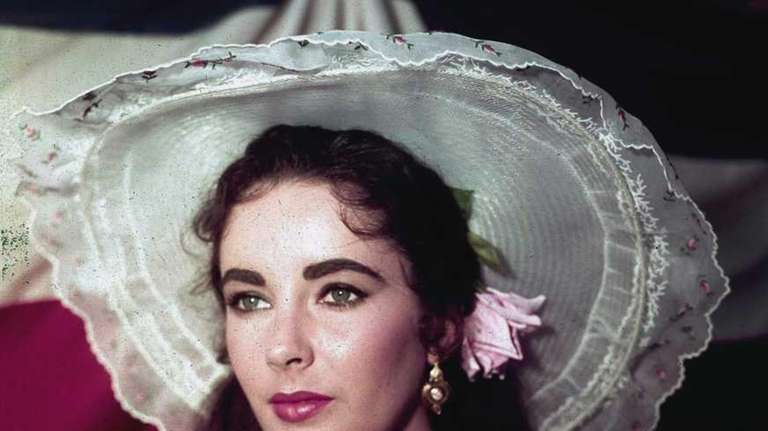 Elizabeth Taylor in costume for her character in