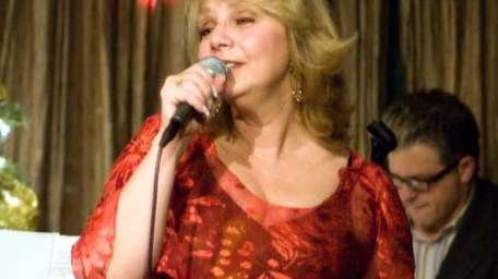 Jazz vocalist Linda Ciofalo performing at The Kitano