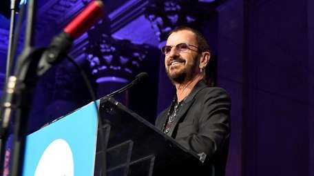 Ringo Starr speaks at the 14th annual UNICEF