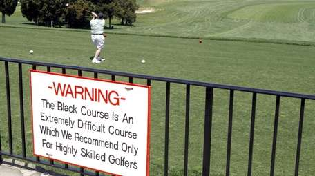 The Bethpage Black course, seen here several years