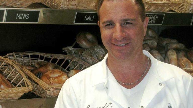 Craig Beresid, proprietor of Brendel's Bagels in Westbury.