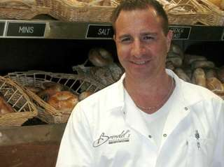 Craig Beresid, proprietor of Brendel's Bagels in Westbury.