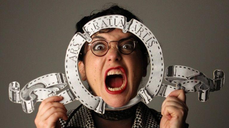 Yael Rasooley's one-woman adult puppet show,