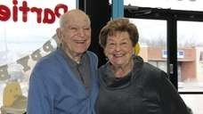 Larry and Harriet Roslow of Franklin Square celebrated