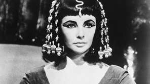 Elizabeth Taylor in the 1963 film