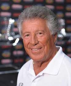 Racing legend Mario Andretti is serious when he