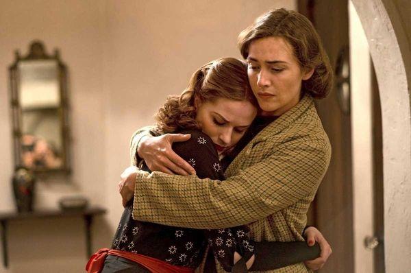 Evan Rachel Wood and Kate Winslet in HBO's