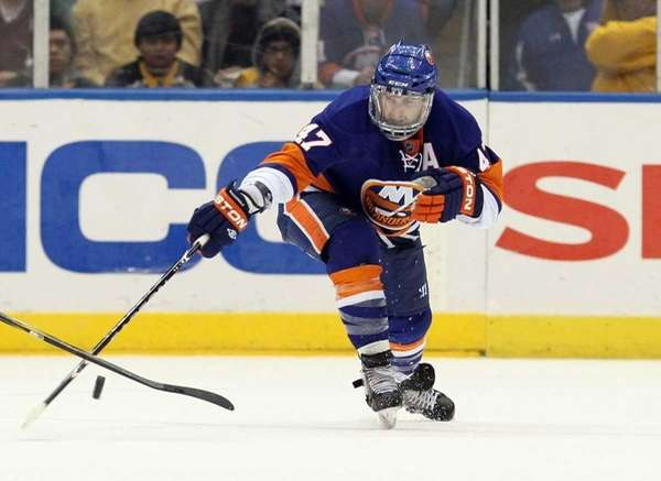 Islanders defenseman Andrew MacDonald. (Feb. 17, 2011)