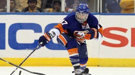Islanders defenseman Andrew MacDonald. (Feb. 17, 2011)
