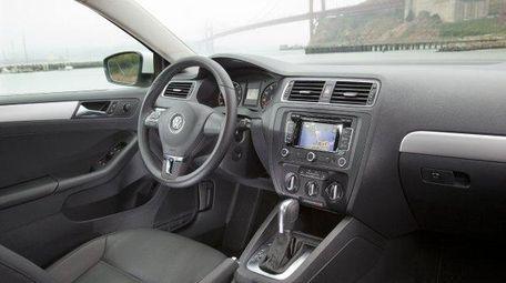 2011 Volkswagen Jetta interior.