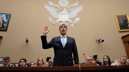 Michael Cohen, President Donald Trump's former personal lawyer,