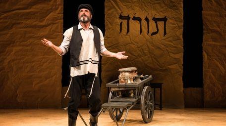 """Steven Skybell stars as Tevye in """"Fiddler on"""