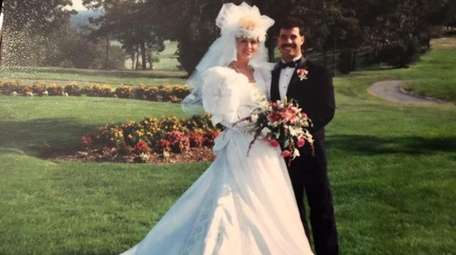 Janet and Joe DeBenedetto on their wedding day