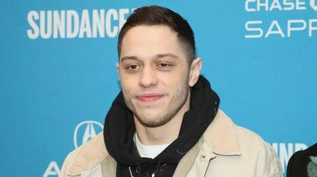 Pete Davidson attends the premiere of the film