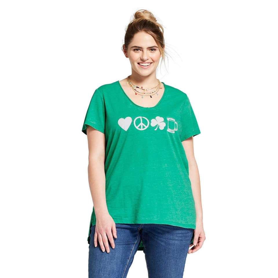 This playful tee is perfect for any St.