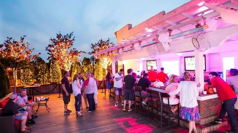 Rooftop 32 is open to the sky at