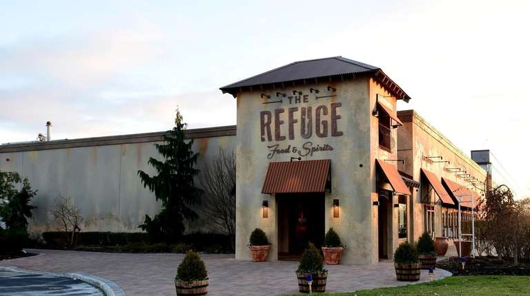 The restaurant The Refuge is on Broadhollow Road