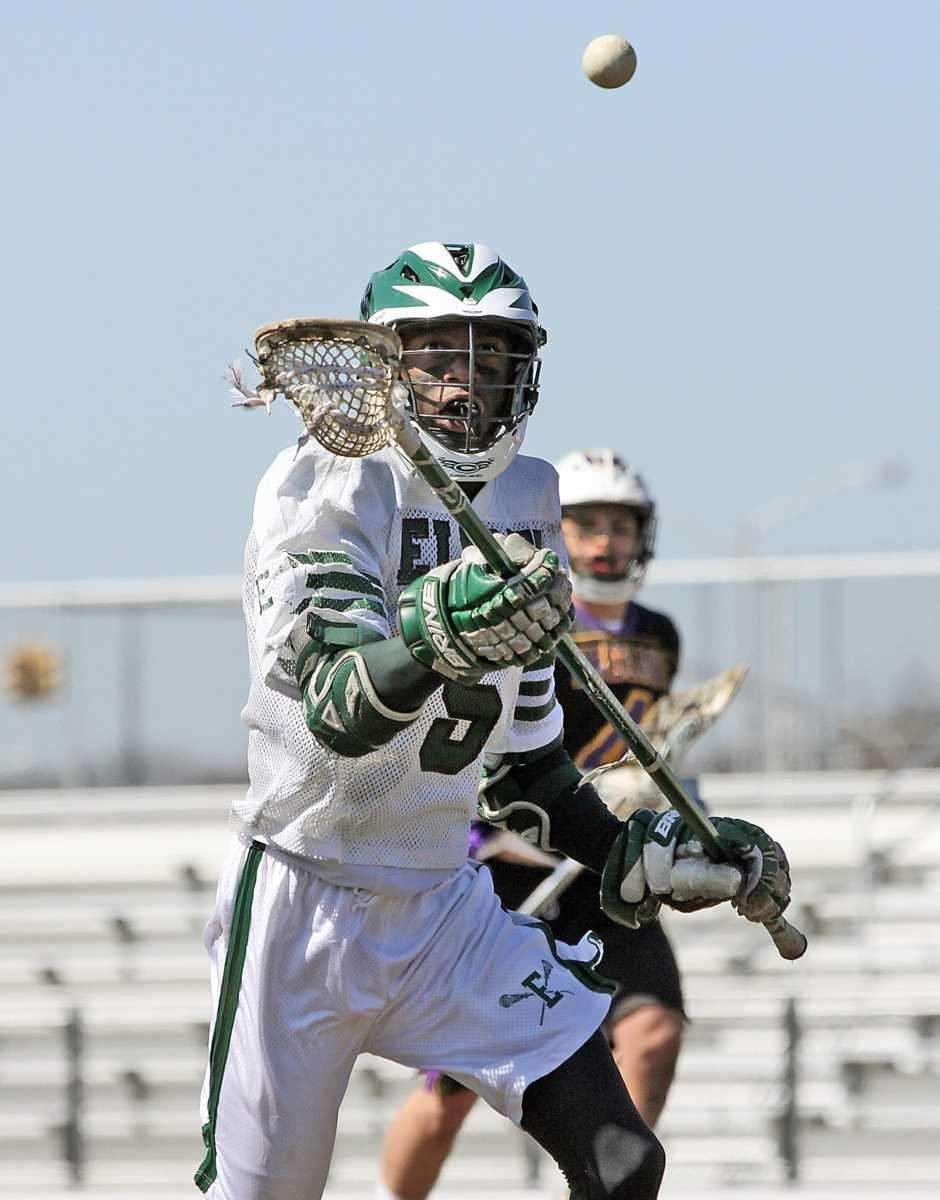 Elmont's Kevin Johnson with the ball. (March 26,