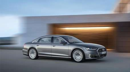 Audi's 2019 A8L is surprisingly athletic for a