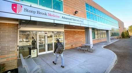 Stony Brook Medicine in Commack, seen on March