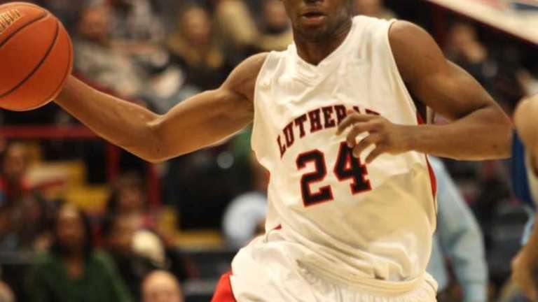 Long Island Lutheran's Achraf Yacoubou during his team's