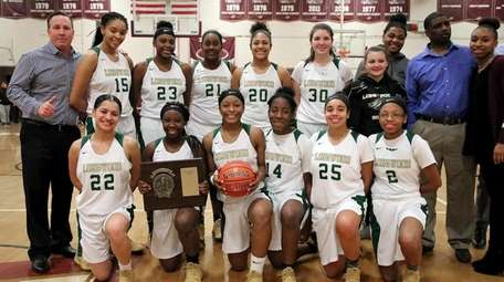 Longwood with its Suffolk overall championship plaque and