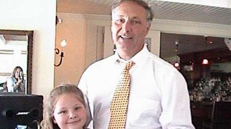 In this 2001 photo, Haley Schoeck, then 7,