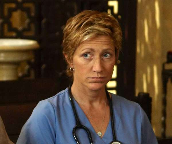 "Edie Falco as Jackie Peyton in ""Nurse Jackie"""