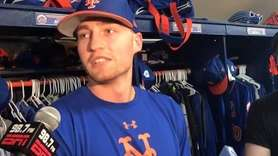 Brandon Nimmo missed a day of Mets training