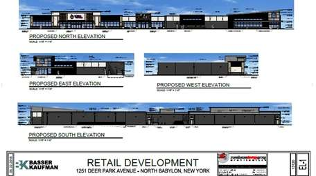 This rendering shows plans for a North Babylon