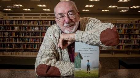 Author Tom Phelan at the Freeport Memorial Library