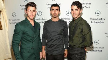 Nick, Joe and Kevin Jonas are back making
