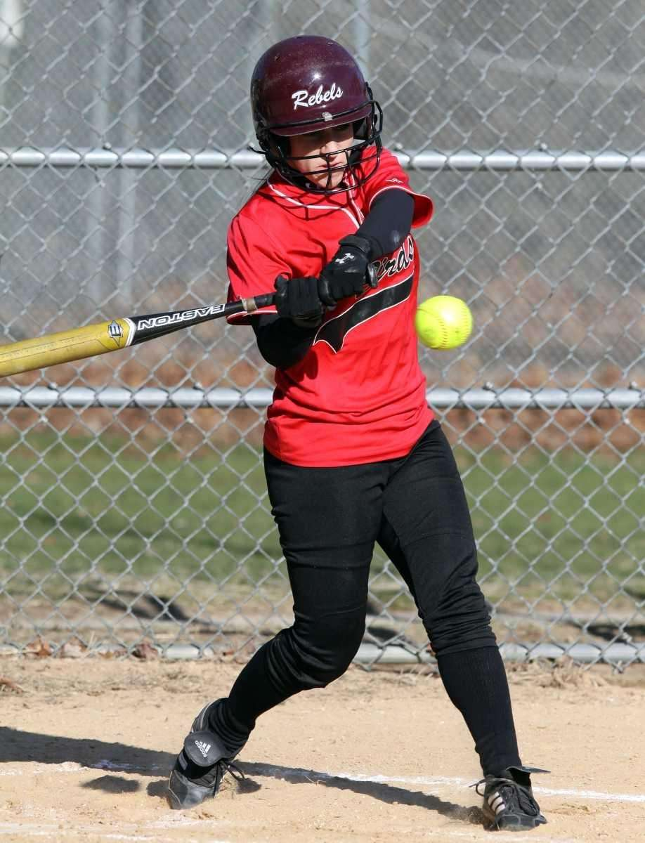 Connetquot's Amanda Schoenfeld tags a double to lead