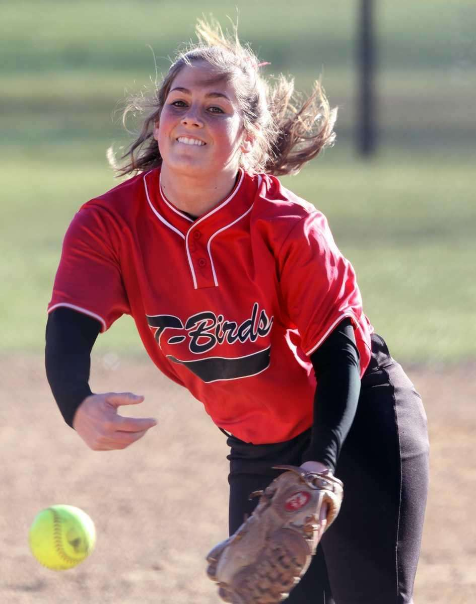 Connetquot pitcher Chelsea LaMarca during a game against