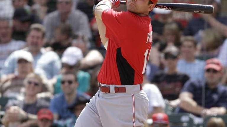 Cincinnati Reds' Joey Votto hits a home run