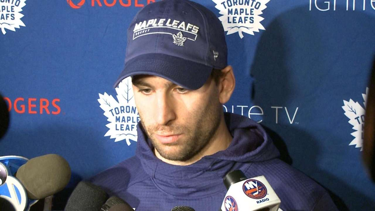 Former Islanders captain John Tavares spoke about what