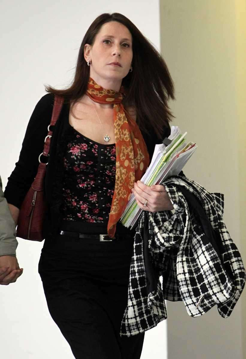 A file photo of Jennifer Jorgensen at court