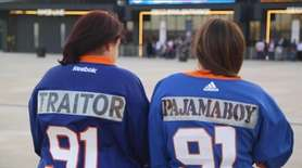 Islander fans had some strong opinions about the