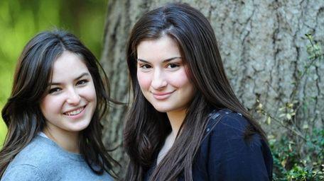 Sophie Koppleman Fritz and Becky Broxmeyer, both 16,