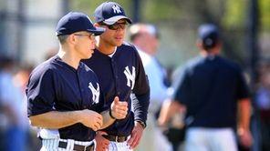 Yankees manager Joe Girardi and third baseman Alex