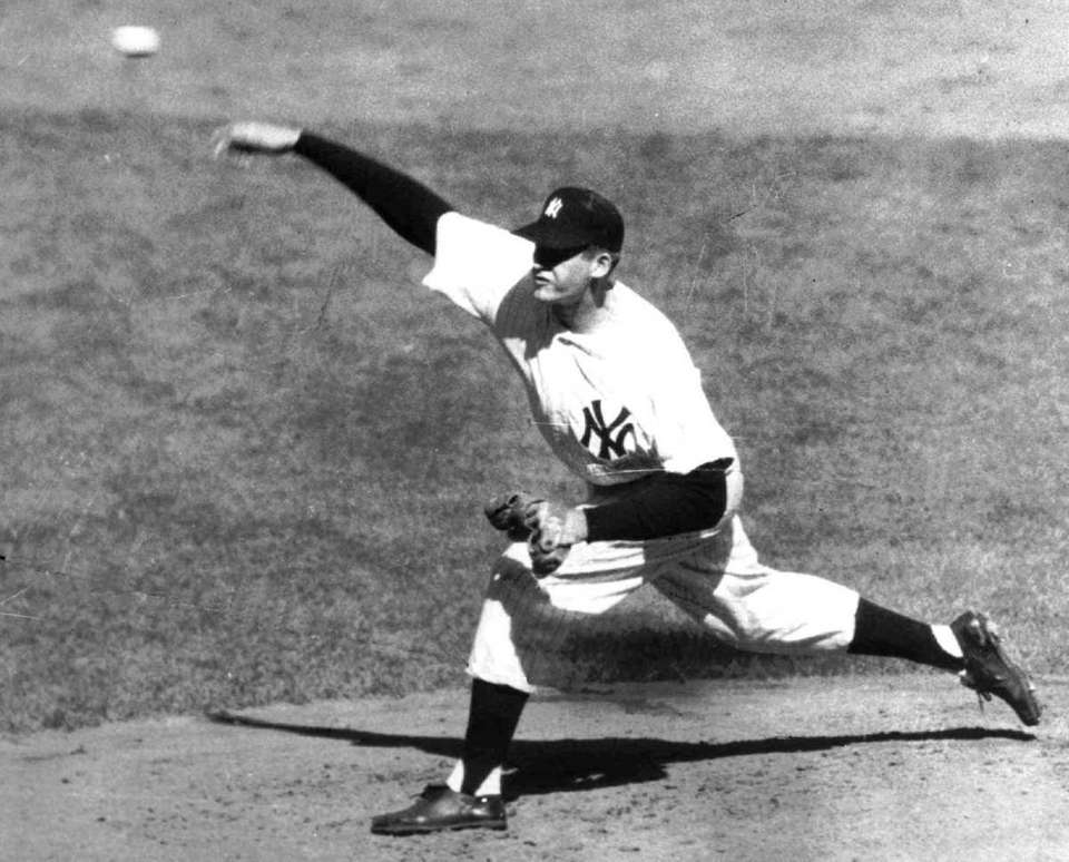 DON LARSEN, P 45-24, 3.50 ERA Don Larsen