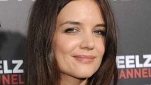 Actress Katie Holmes arrives at The ReelzChannel World