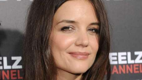 Katie Holmes arrives at The Reelz channel world