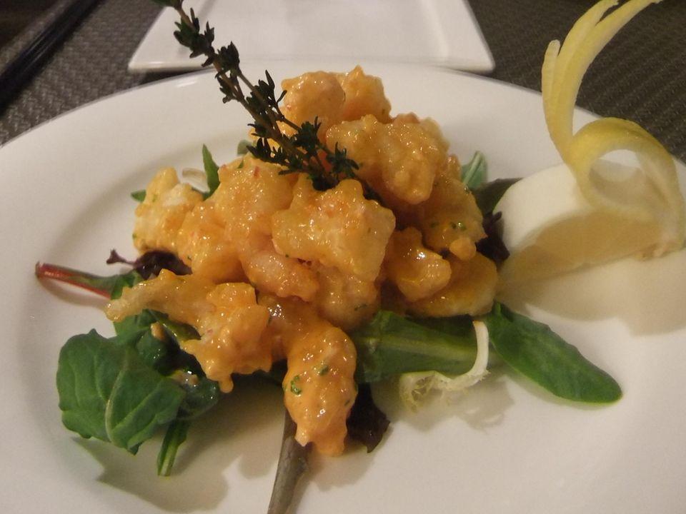 Rock shrimp tempura at Sushi Ko in Merrick