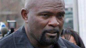 Former New York Giants football star Lawrence Taylor