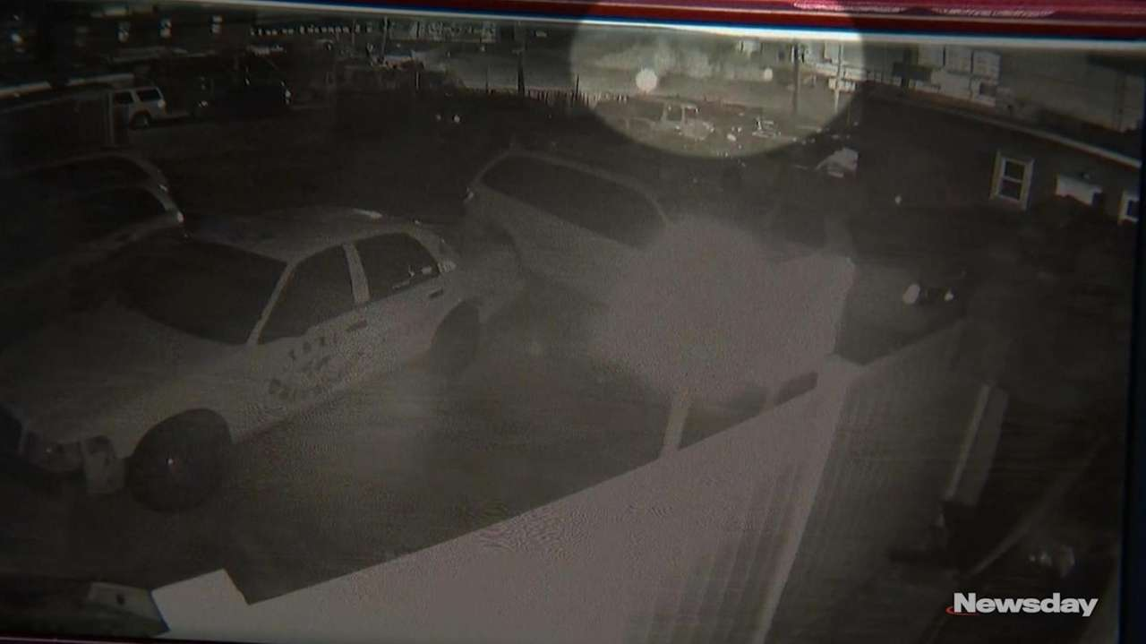 On Thursday, Newsday obtained surveillance footage, fromTaxi Universal,