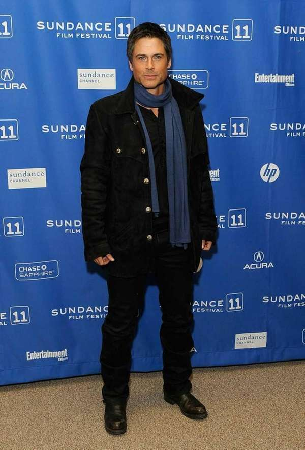 Rob Lowe at the Sundance Festival. (Jan. 26,