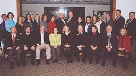 Garden City Chamber of Commerce Pineapple Ball committee