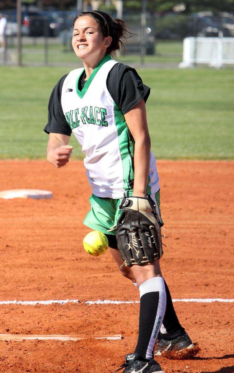 ASHLEY COLE Carle Place, Pitcher, Junior A very