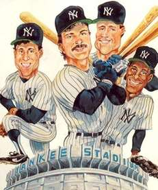 The cover of the 1991 Yankees media guide